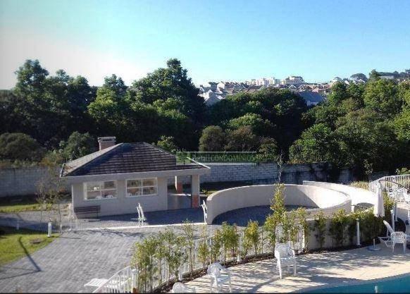 terreno à venda, 134 m² por r$ 220.000,00 - santa cândida - curitiba/pr - te0571