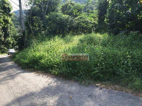 terreno à venda, 1370 m² por r$ 140.000 - parque dos jacarandás - arujá/sp - te0191
