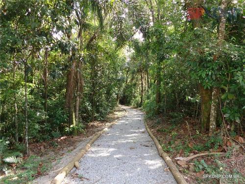 terreno à venda, 1378 m² por r$ 350.000,00 - beverly hills - jandira/sp - te0102