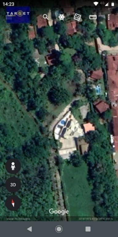 terreno à venda, 1379 m² - maresias - são sebastião/sp - te0771