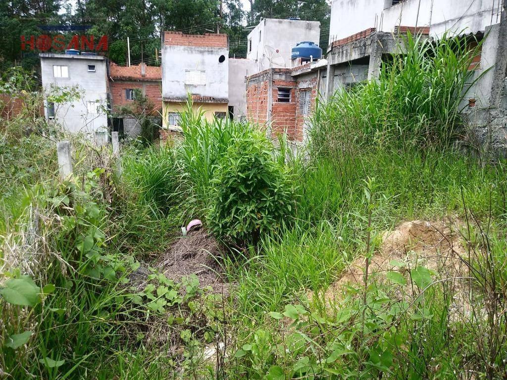 terreno à venda, 140 m² por r$ 80.000 - jardim marcelino - caieiras/sp - te0339