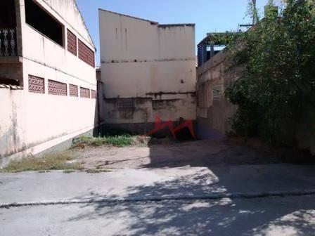 terreno à venda, 144 m² por r$ 35.000 - sacramento - são gonçalo/rj - te0014
