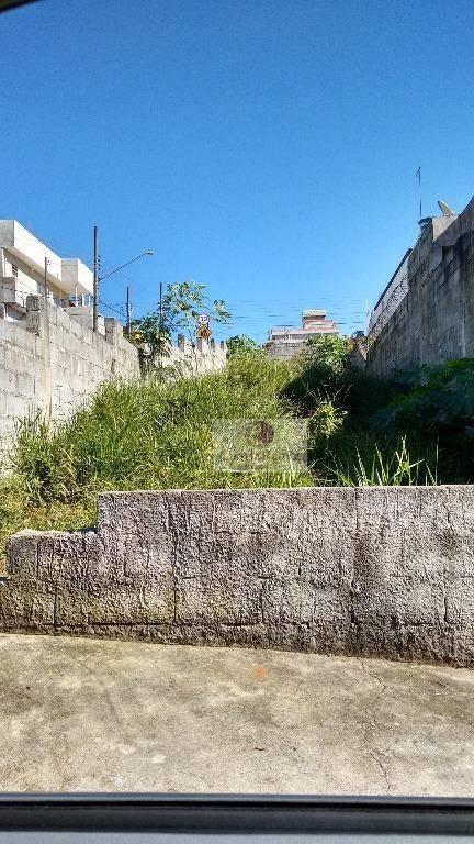 terreno à venda, 147 m² - cidade edson - suzano/sp - te0016