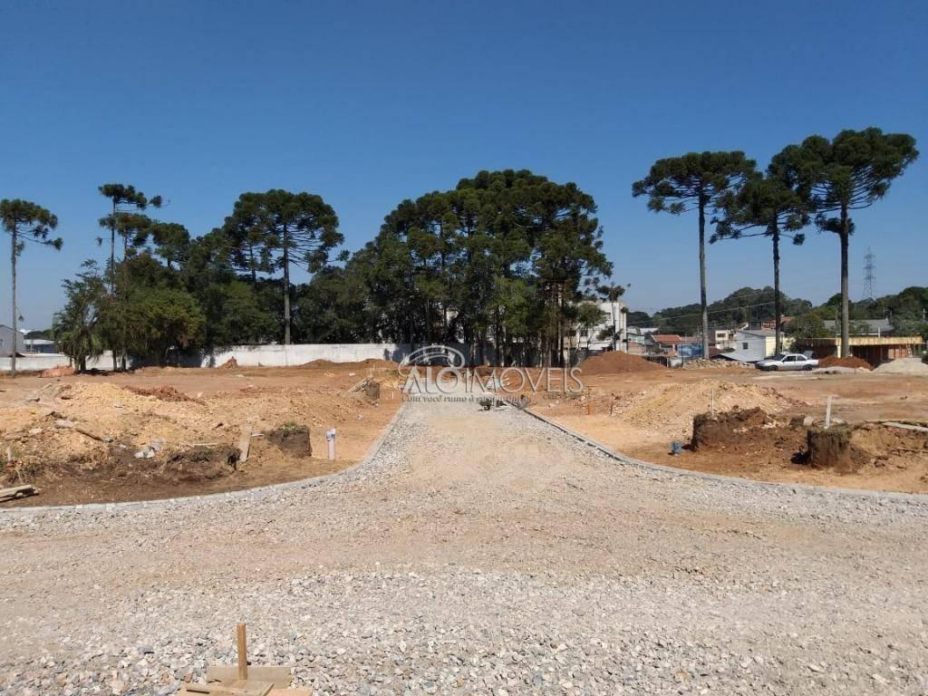 terreno à venda, 147 m² por r$ 211.830,42 - pinheirinho - curitiba/pr - te0145