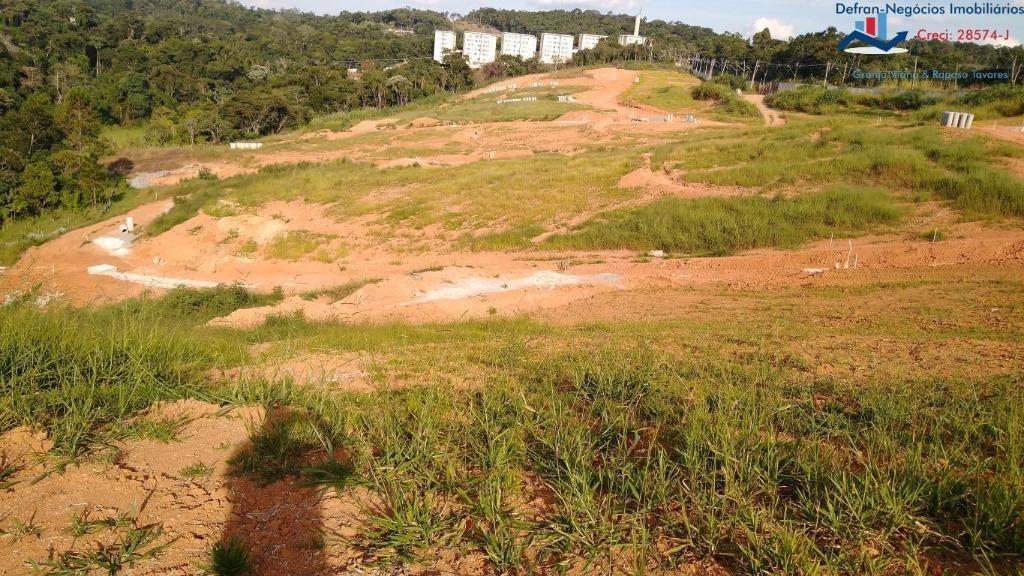 terreno à venda, 150 m² por r$ 108.000,00 - central - cotia/sp - te0173
