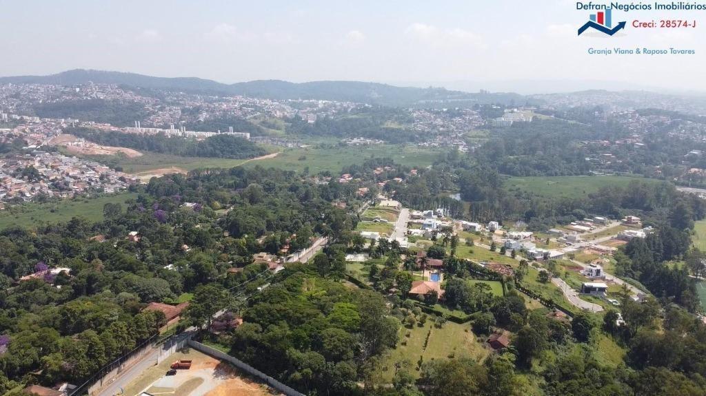 terreno à venda, 150 m² por r$ 116.950 - centro - cotia/sp - te0164