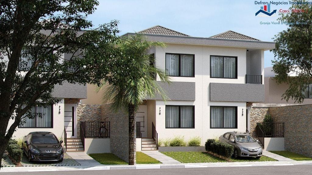 terreno à venda, 150 m² por r$ 116.960 - centro - cotia/sp - te0165