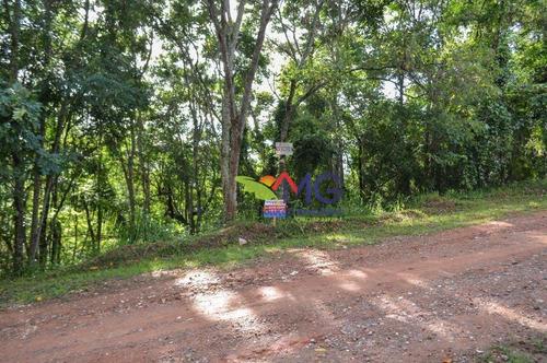 terreno à venda, 1500 m² por r$ 115.000 - rancho maringá ii - atibaia/sp - te0358