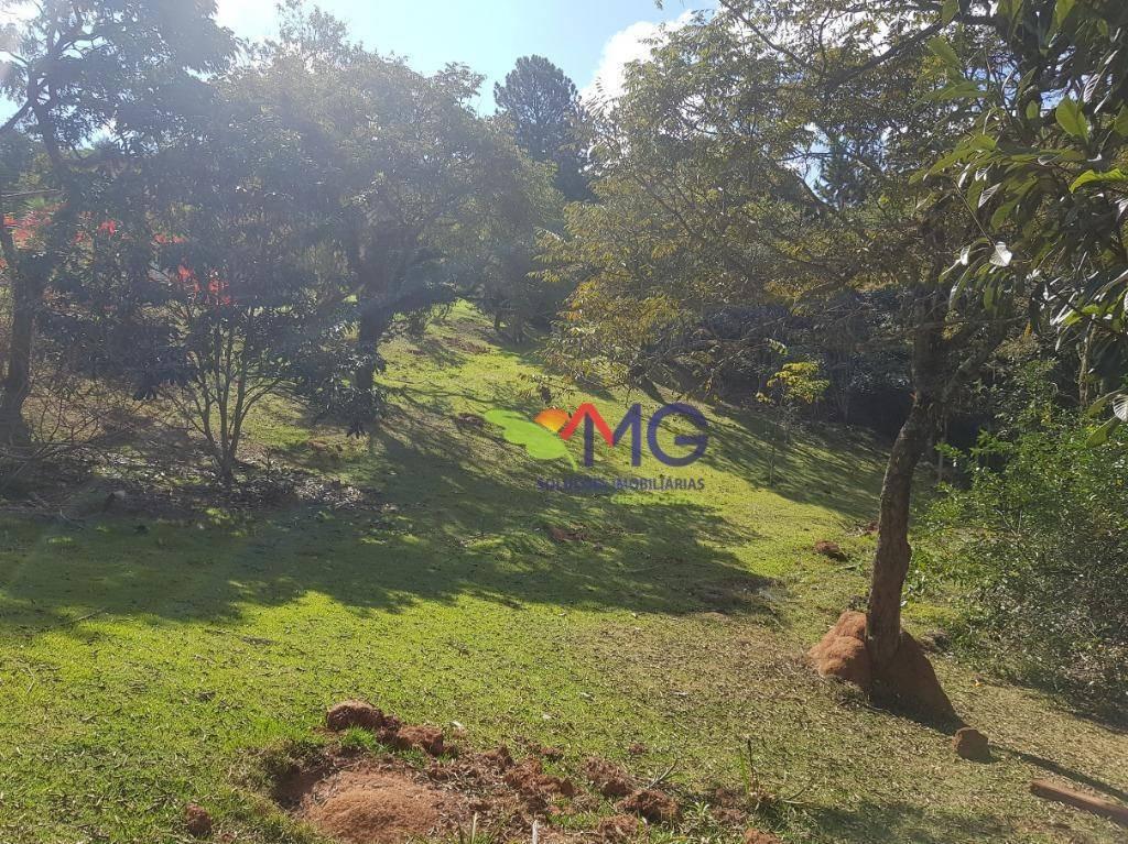 terreno à venda, 1500 m² por r$ 250.000 - rancho maringá ii - atibaia/sp - te0428