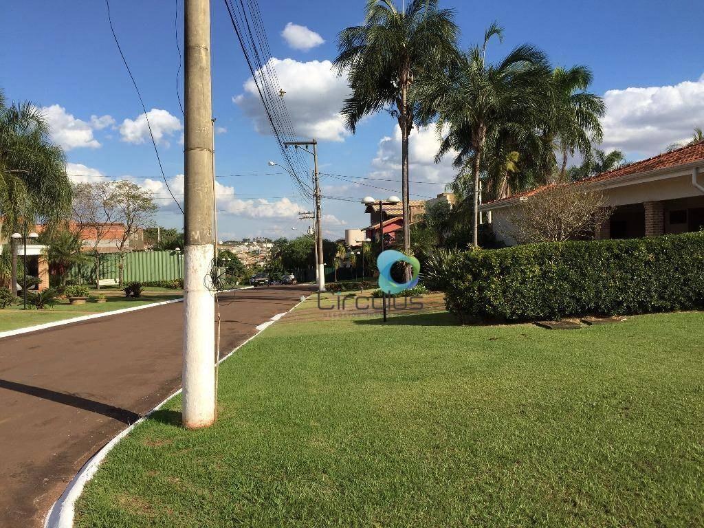 terreno à venda, 1542 m² por - condomínio firenze - ribeirão preto/sp - te0567