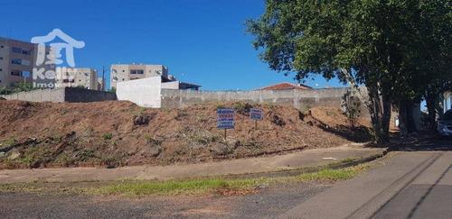 terreno à venda, 1565 m² por r$ 600.000 - jardim barcelona - presidente prudente/sp - te0379