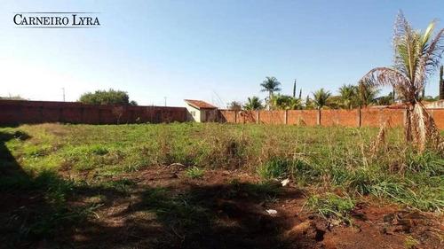 terreno à venda, 1603 m² por r$ 600.000 - condomínio jardim alvorada - jaú/sp - te0182