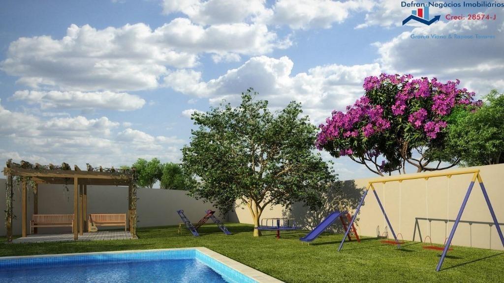 terreno à venda, 168 m² por r$ 118.450 - centro - cotia/sp - te0178