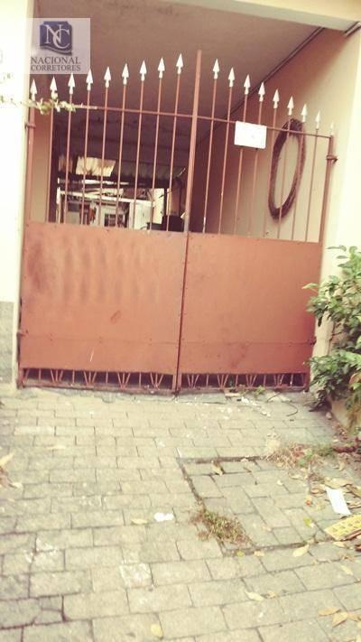 terreno à venda, 175 m² por r$ 280.000,00 - bangu - santo andré/sp - te0673