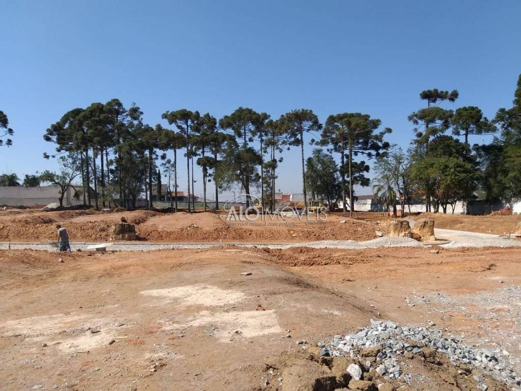 terreno à venda, 177 m² por r$ 260.204,26 - pinheirinho - curitiba/pr - te0119