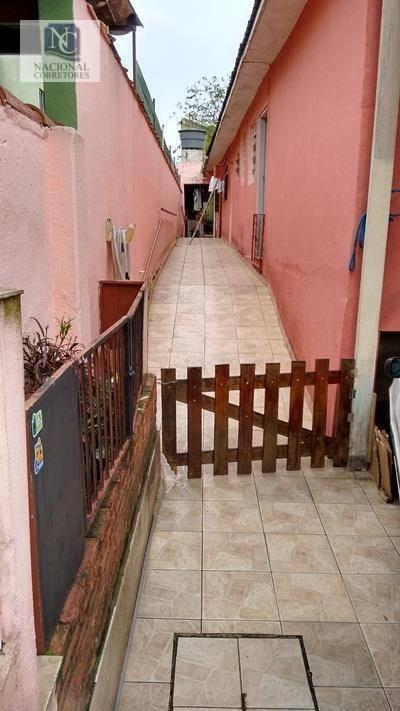 terreno à venda, 180 m² por r$ 370.000,00 - jardim santo antônio - santo andré/sp - te0390