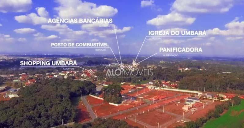 terreno à venda, 183 m² por r$ 201.916,00 - umbará - curitiba/pr - te0038