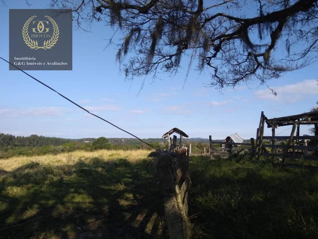 terreno à venda, 186000 m² por r$ 3.348.000,00 - santo onofre - viamão/rs - te0075