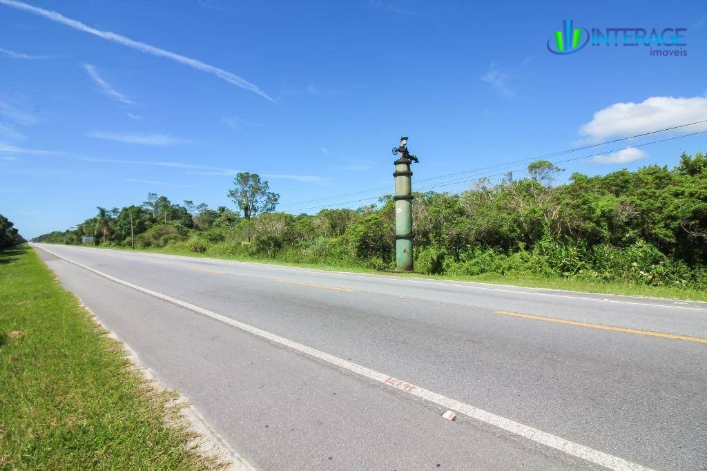 terreno à venda, 192800 m² por r$ 25.000.000 - praia de leste - pontal do paraná/pr - te0185