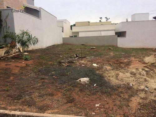 terreno à venda, 200 m² por r$ 160.000,00 - condomínio santa mônica i - mogi guaçu/sp - te0189