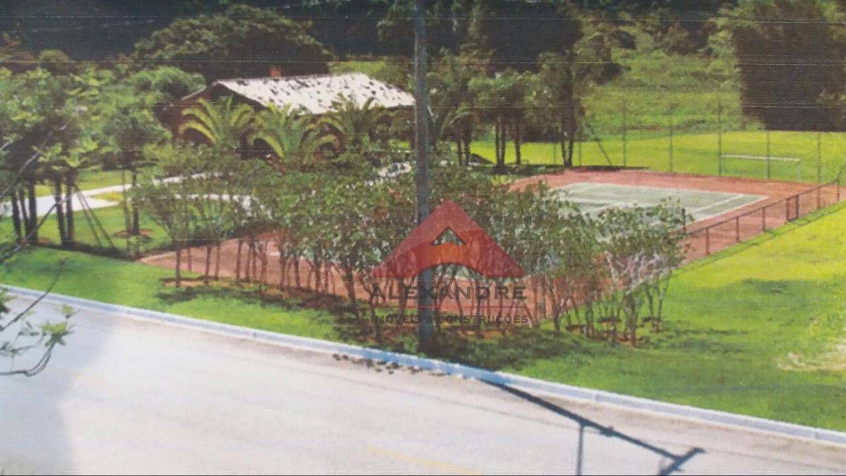 terreno à venda, 2074 m² por r$ 270.000,00 - village parahybuna - paraibuna/sp - te0551