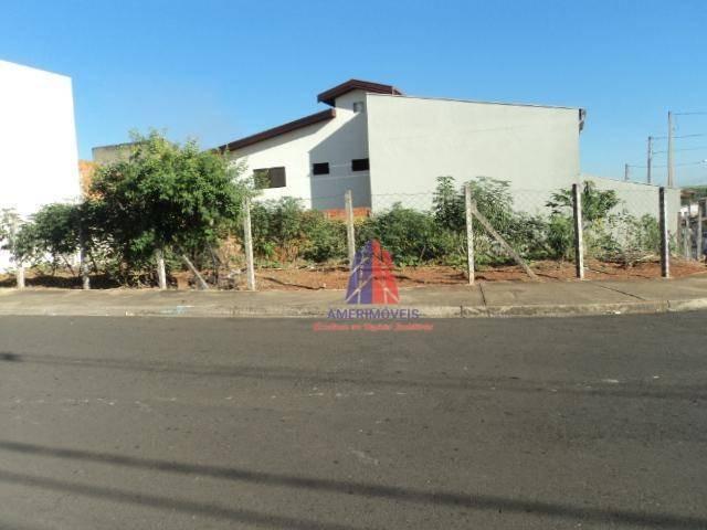 terreno à venda, 208 m² por r$ 170.000,00 - parque nova carioba - americana/sp - te0115
