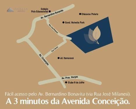 terreno à venda, 213 m² por r$ 138.500,00 - vila rubens - indaiatuba/sp - te1168