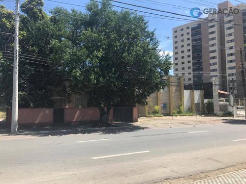 terreno à venda, 2140 m² por r$ 2.000.000 - centro - são josé dos campos/sp - te1486