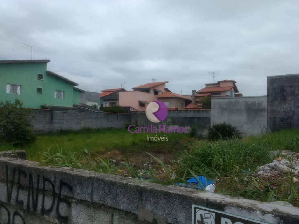 terreno à venda, 217 m² - jardim dos ipês - suzano/sp - te0151