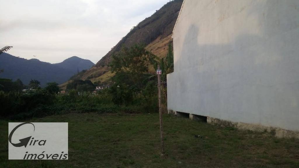 terreno à venda, 220 m² por r$ 180.000 - vargem pequena - rio de janeiro/rj - te0022