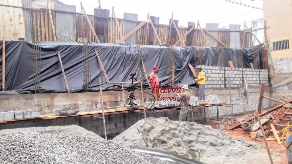 terreno à venda, 220 m² por r$ 480.000,00 - vila mangalot - são paulo/sp - te0085