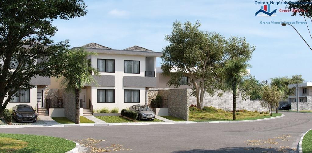 terreno à venda, 223 m² por r$ 124.500 - centro - cotia/sp - te0170