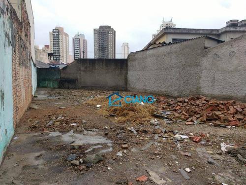 terreno à venda, 230 m² por r$ 690.000 - mooca - são paulo/sp - te0019