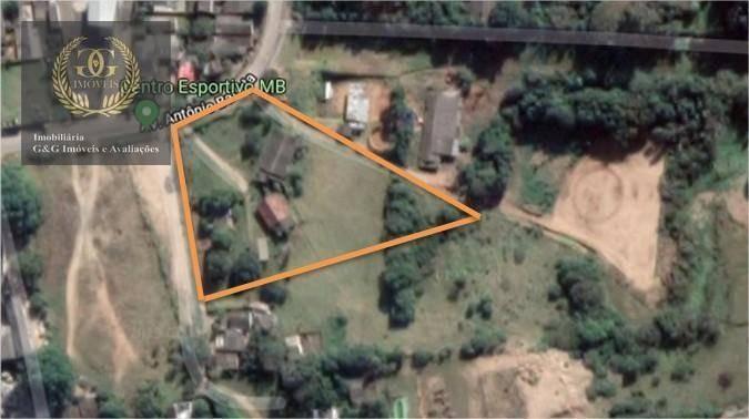 terreno à venda, 23733 m² por r$ 3.000.000 - santa cecília - viamão/rs - te0183