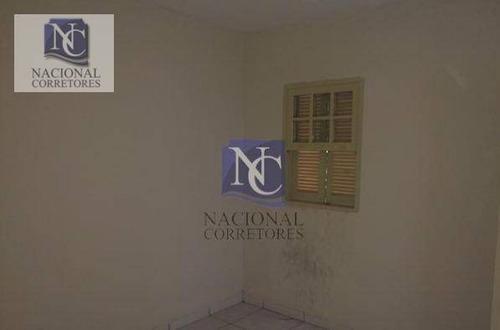 terreno à venda, 240 m² por r$ 430.000 - parque das nações - santo andré/sp - te0945
