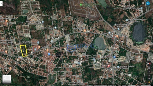 terreno à venda, 24000 m² por r$ 3.500.000 - centro - eusébio/ce - te0111