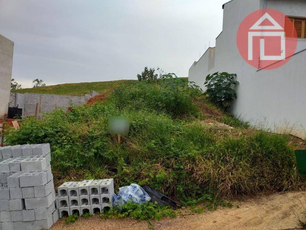 terreno à venda, 250 m² por r$ 139.000 - residencial dos lagos - bragança paulista/sp - te0877