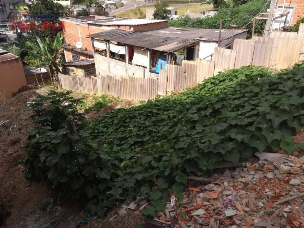 terreno à venda, 250 m² por r$ 140.000 - jardim vitoria - caieiras/sp - te0326