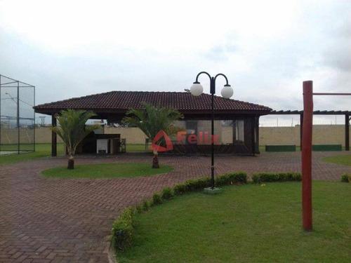 terreno à venda, 250 m² por r$ 170.000 - campos do conde louvre - tremembé/sp - te1018