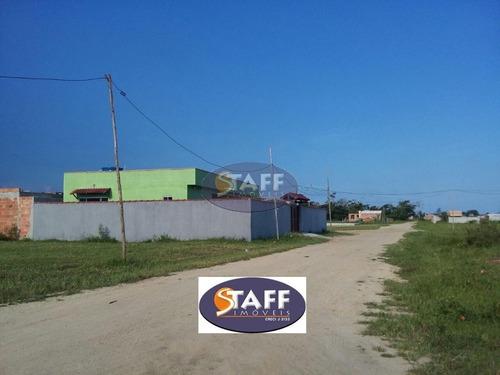 terreno à venda, 250 m² por r$ 25.000 - unamar - cabo frio/rj - te0155