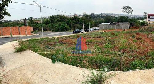 terreno à venda, 250 m² por r$ 250.000 - jardim europa i - santa bárbara d'oeste/sp - te0235
