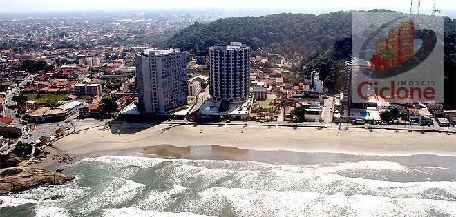 terreno à venda, 250 m² por r$ 55.000 - gaivota - itanhaém/sp - te0138