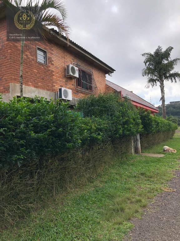 terreno à venda, 250000 m² por r$ 6.000.000 - tijuca - alvorada/rs - te0171