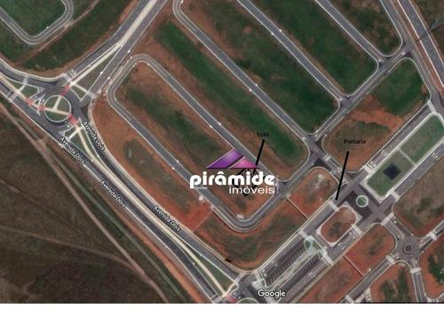 terreno à venda, 252 m² por r$ 181.000 - jardim santa júlia - são josé dos campos/sp - te0929
