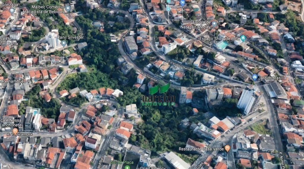 terreno à venda, 2600 m² por r$ 1.500.000 - pernambués - salvador/ba - te0652