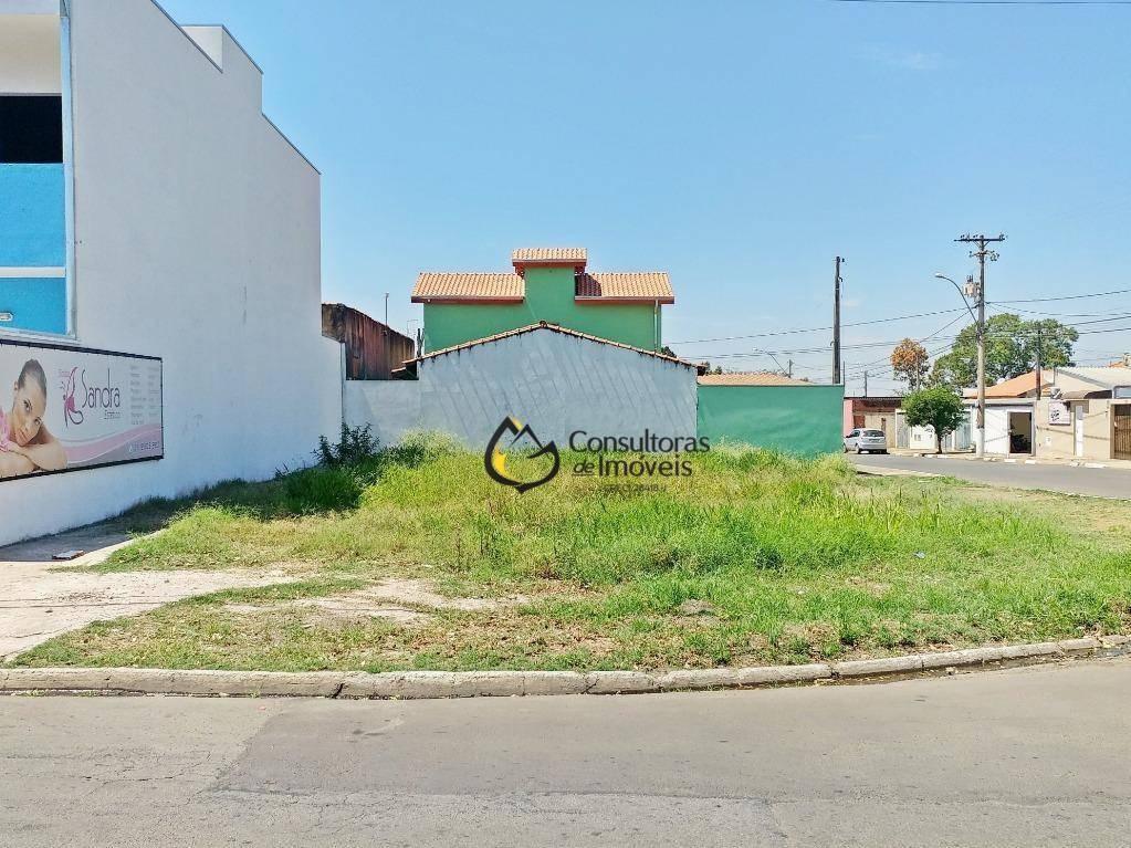terreno à venda, 262 m² por r$ 160.000,00 - são josé - paulínia/sp - te0370