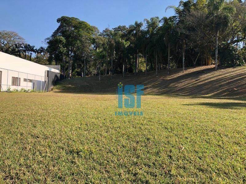 terreno à venda, 2717 m² por r$ 1.500.000,00 - jardim santo antônio - embu das artes/sp - te0594
