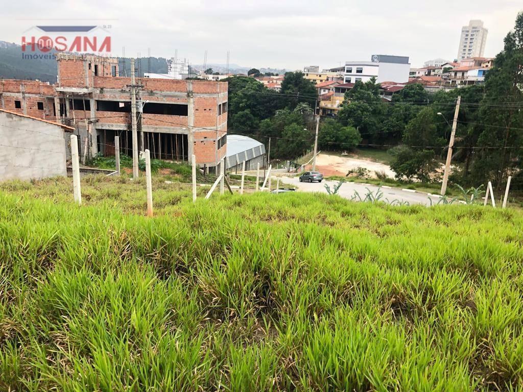 terreno à venda, 273 m² por r$ 320.000 - região central - caieiras/sp - te0335