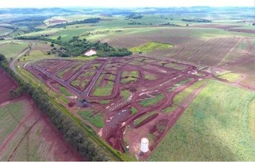 terreno à venda, 275 m² por r$ 109.964 - distrito industrial - cravinhos/sp - te0237
