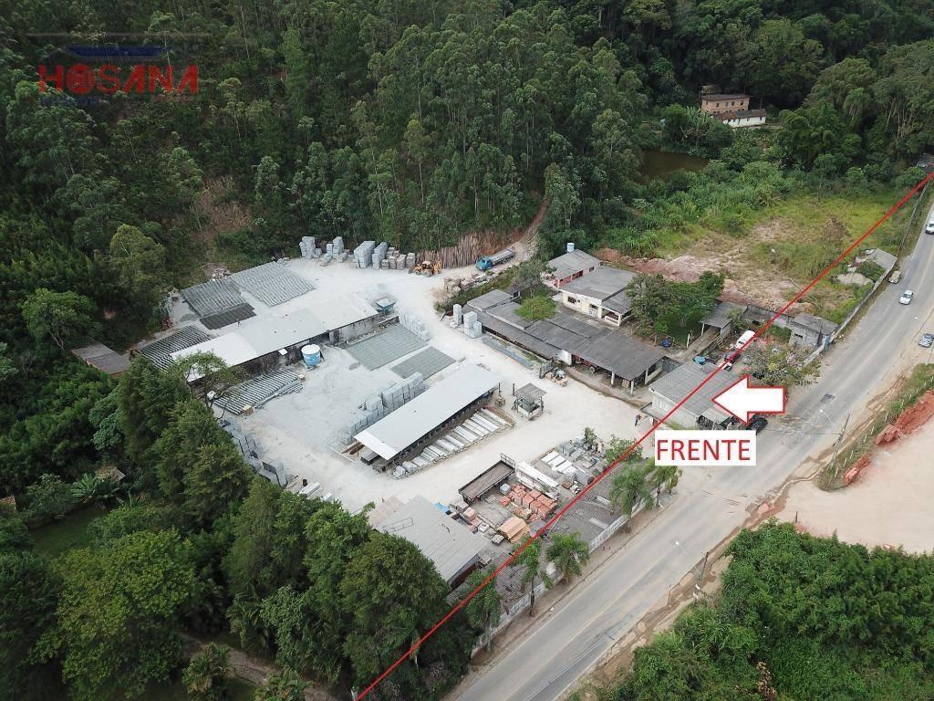 terreno à venda, 277 m² por r$ 13.875.000 - morro grande - caieiras/são paulo - te0306